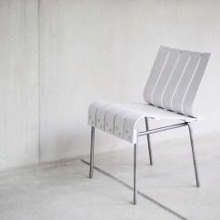 Chair Experimental Design Fully Adjustable Ergonomic Office Projet Etudiant La Chaise White