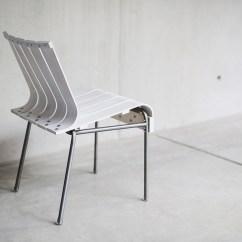 Chair Experimental Design Trailer Hitch Hammock Projet Etudiant La Chaise White