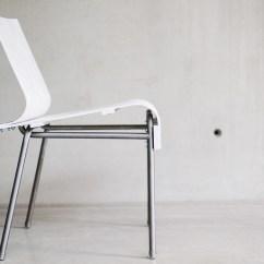 Chair Experimental Design Folding Plywood Projet Etudiant La Chaise White