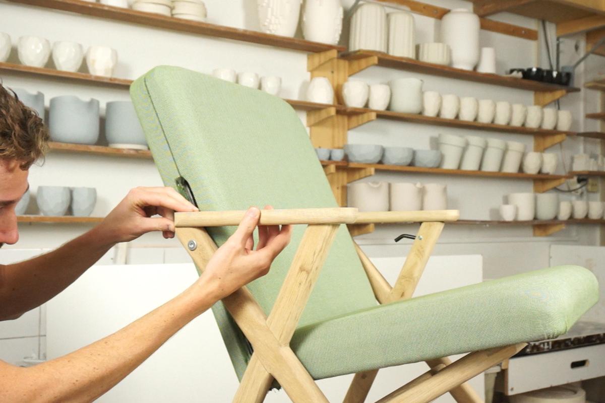 Crowdfunding Hybride Chair La Chaise Convertible Du