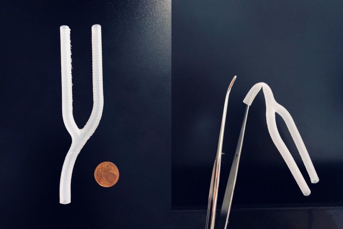 Vascular Branching 3D Printing!