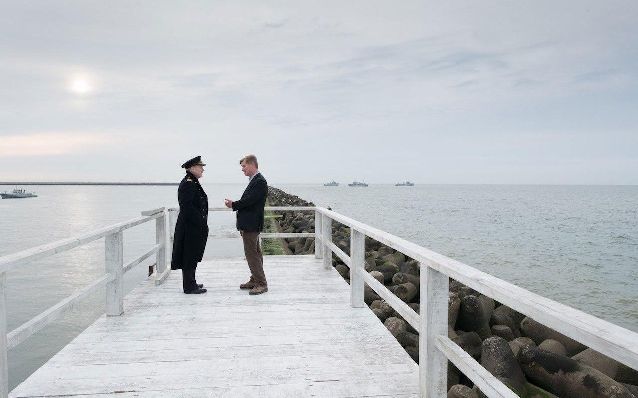 Am Set von Dunkirk