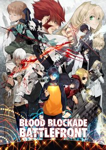 Blood Blockade Battlefront Poster Kritik