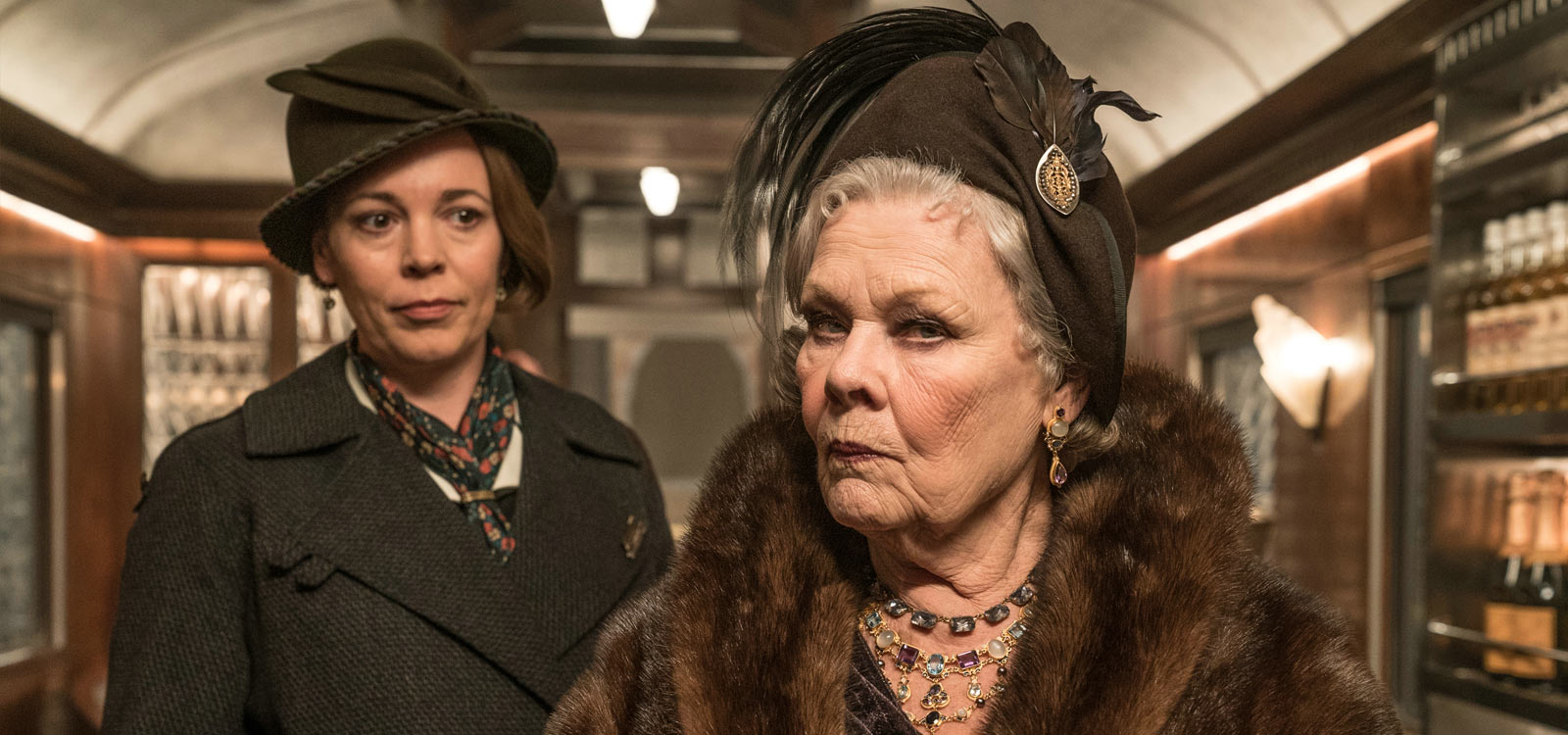 Mord im Orient-Express Filmkritik Olivia Colman Judi Dench