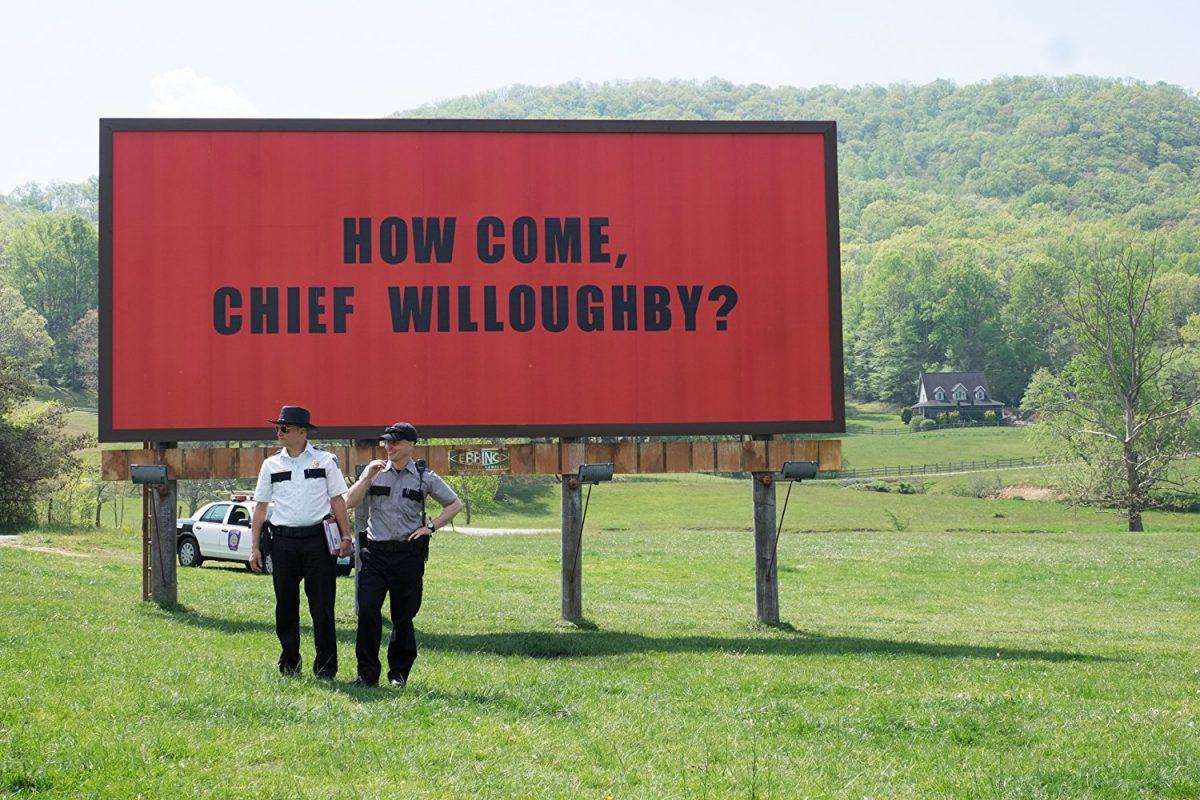 Three Billboards Outside Ebbing, Missouri Woody Harrelson Sam Rockwell