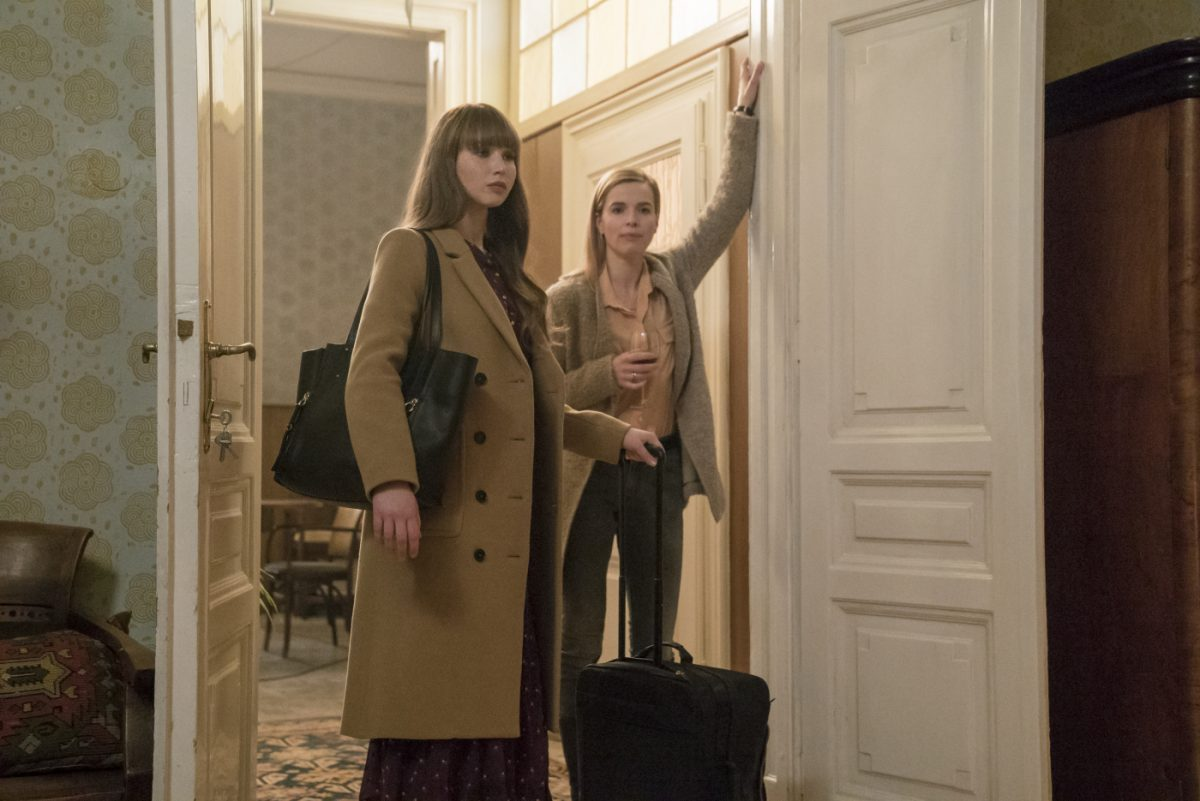 Red Sparrow Jennifer Lawrence Joely Richardson