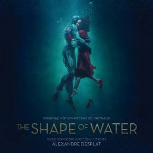 The Shape of Water Soundtrack CD Cover Alexandre Desplat