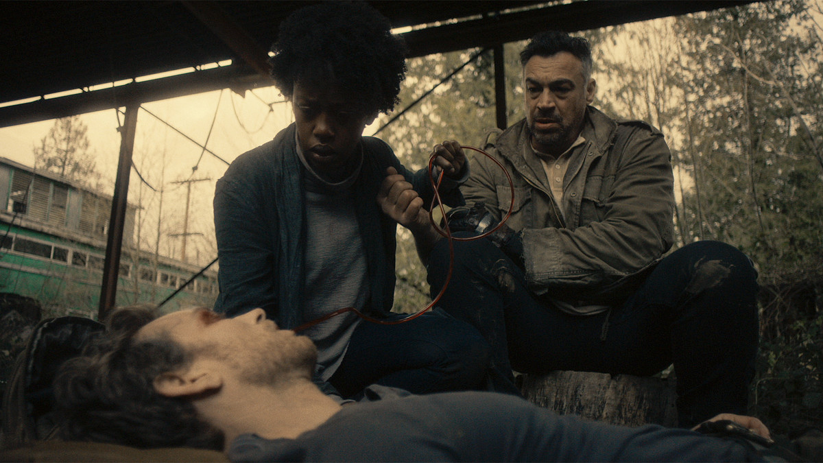 Van Helsing Netflix Original Rukiya Bernard Aleks Paunovic