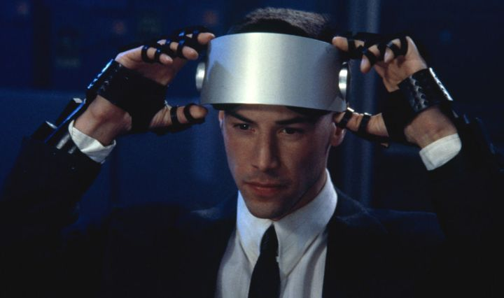 johnny-mnemonic Vernetzt Keanu Reeves