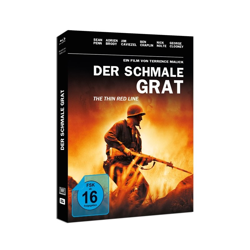Der schmale Grat FilmConfect Mediabook Cover Review