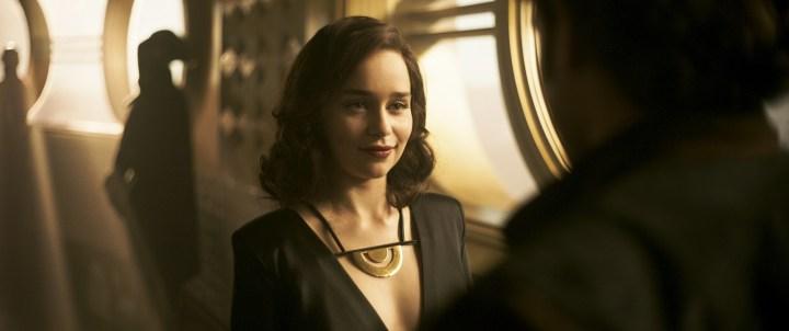 SOLO: A STAR WARS STORY Alden Ehrenreich Emilia Clarke