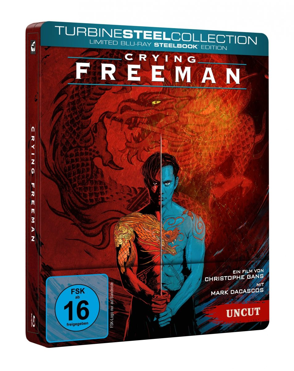 Crying Freemann Cover Steelbook