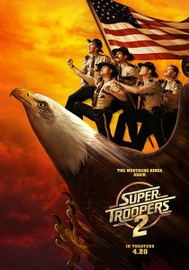 Super Troopers 2 poster Filmkritik