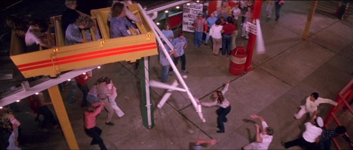 Rollercoaster Achterbahn Szenebild