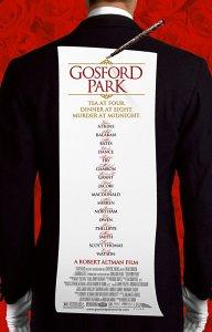 Gosford Park Filmplakat