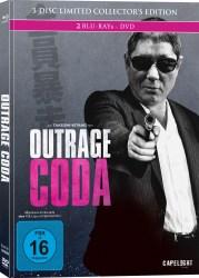 Outrage Coda Mediabook Cover capelight