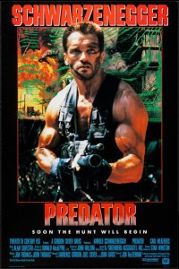 Predator 1987 Kinoposter