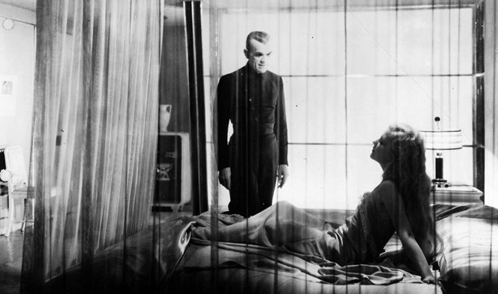 The Black Cat Boris Karloff und Lucille Lund
