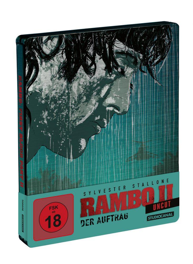 Rambo 2 Blu-ray Steelbook