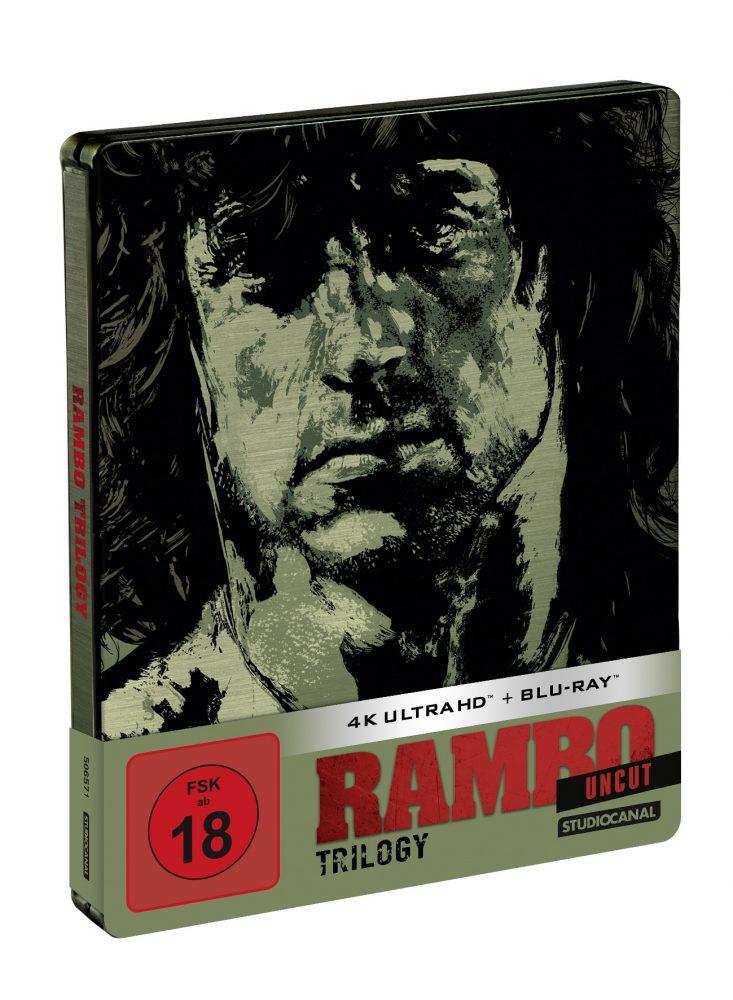 Rambo_Trilogy Blu-ray 4K UHD Steelbook