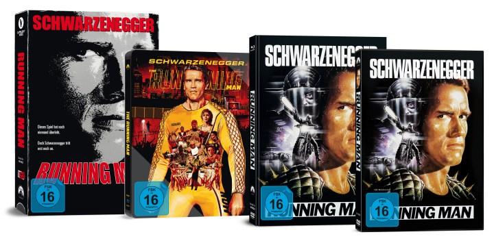 Running Man Arnold Schwarzenegger Review Mediabook capelight