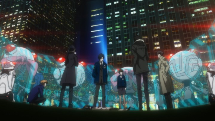 Psycho Pass Anime-Empfehlung Review