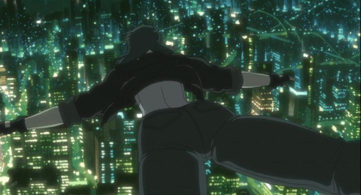 ghost in the shell stand alone complex laughing man Review