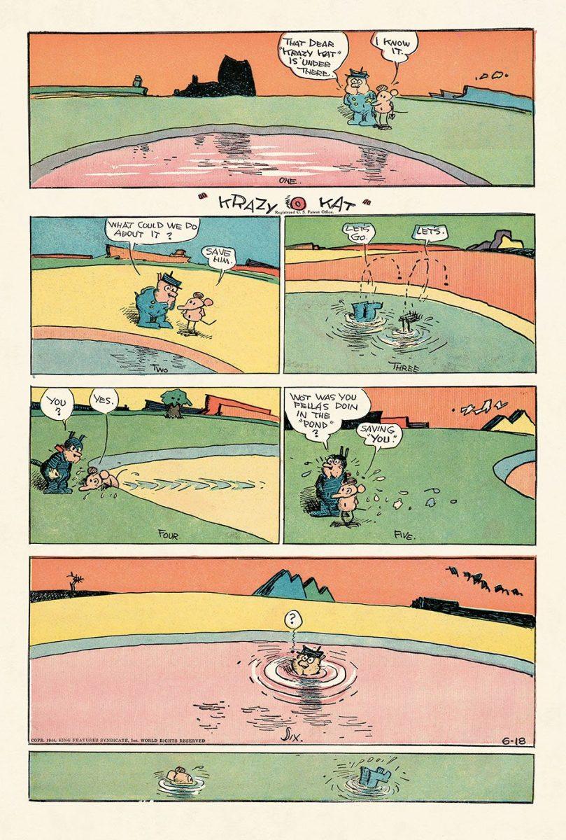 George Herrimans Krazy Kat 14