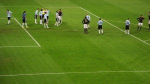 Deutschland gegen Argentinien 2010