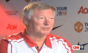 Sir Alex Ferguson - Trainer von Manchester United