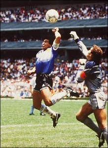 Die Hand Gottes - Diego Armando Maradona