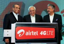 Airtel Mobile 4G LTE Services Launched