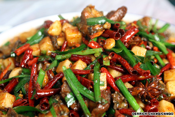 eat spicy food to live long