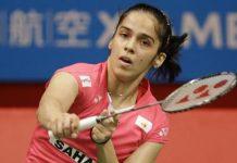 saina nehwal settles for silver