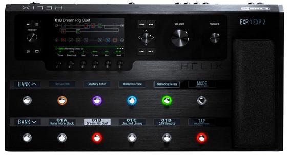 Helix Guitar Processor
