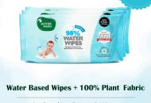 Mother Sparsh Water Wipes