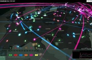 Kaspersky Cyber War en temps réel