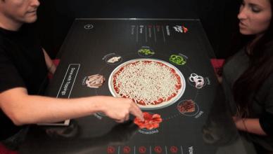 Pizza Hut et sa table tactile un concept innovant