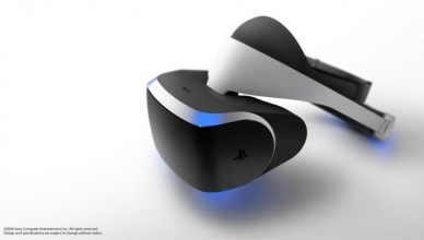 Projet Morpheus Casque de realite virtuelle de Sony pour la PS4