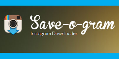 Save-O-Gram sauvegarder vos informations Instagram!