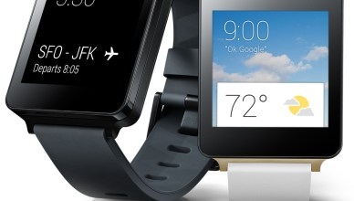 Smartwatch Google LG G Watch