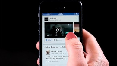 Videos publicitaires sur Facebook