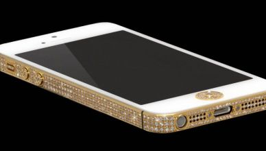 iPhone 5 en diamants et en or prix un million de dollars