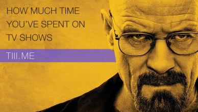 Combien d'heures avez-vous passé à regarder des séries