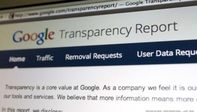 Données Google sur les demandes de renseignements sur les utilisateurs