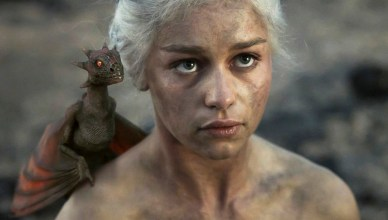 Khaleesi, la mère des dragons dans Game Of Thrones