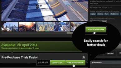Découvrez CheapShark, l'extension Chrome pour trouver vos jeux Steam à mini prix!
