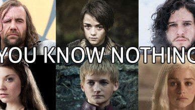Perdu dans les relations Game of Thrones, le site internet You Know Nothing
