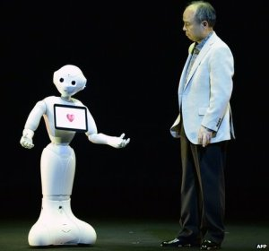 Pepper, le nouveau robot présenté par SoftBank