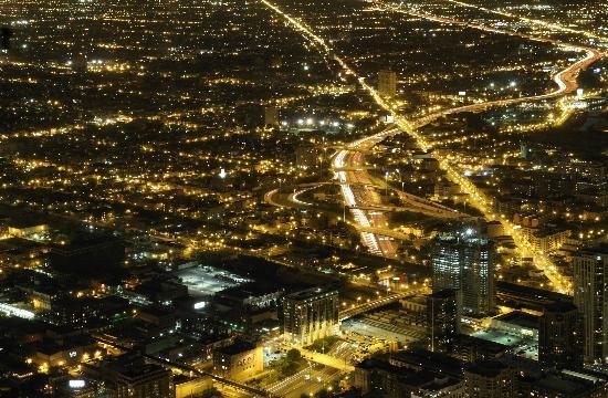 la ville de Chicago souhaite installer un nouveau type de réverbère